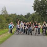 Fahrrad Rallye im August 2011